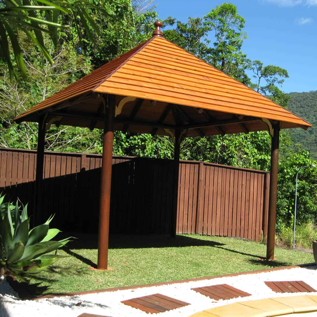 Grand Gazebos and Cubbies - 3.8m Hipped Pavilion-1