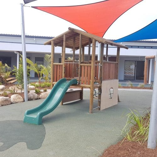 Grand Gazebos and Cubbies - Grand Cubby with Slide 2