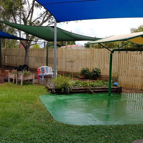 Grand Gazebos and Cubbies - New Fence Installed at childcare centre