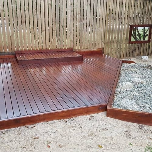 Grand Gazebos and Cubbies - Custom Deck to suit new playground