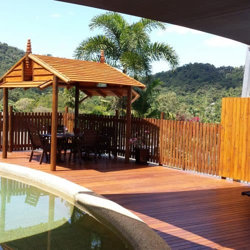 Grand Gazebos and Cubbies - Pool Deck and 3.5m Pavilion